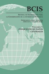Sistema de Información para la Conservación de la diversidad ...