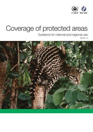 Coverage of protected areas