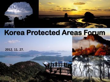 Korea Protected Areas Forum