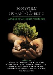 Ecosystems and Human Well-being: A Manual for - UNEP World ...