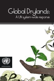 Global Drylands: - UNEP World Conservation Monitoring Centre