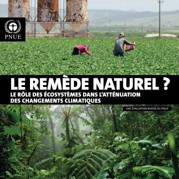 LE REMÈDE NATUREL ? - GRID-Arendal