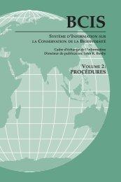 Système d'Information sur la Conservation de la Biodiversité