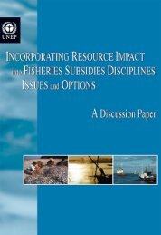 Incorporating Resource Impact into Fisheries Subsidies ... - UNEP