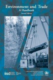 Environment and Trade: A Handbook - Second Edition - UNEP