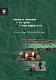 A Country Study on the Viet Nam Rice Sector - UNEP