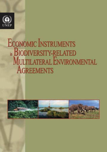 Economic Instruments in Biodiversity-related MEAs - UNEP