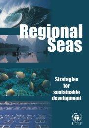 Regional Seas: Strategies for sustainable development - UNEP