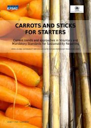 CARROTS AND STICKS FOR STARTERS - DTIE