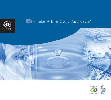 Why Take A Life Cycle Approach? - estis