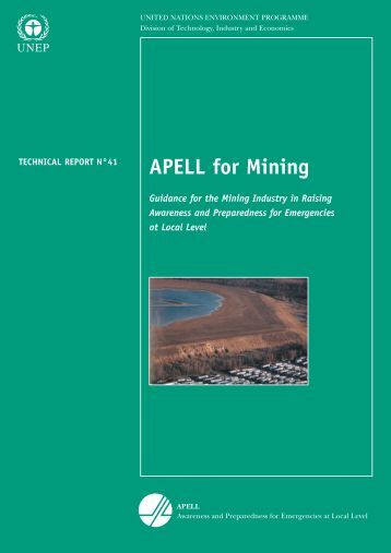 APELL for Mining - DTIE