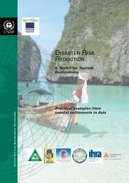 Disaster Risk Reduction - A Toolkit for Tourism ... - PreventionWeb