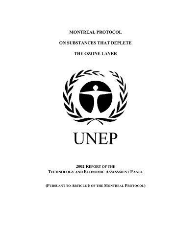TEAP Report - Ozone Secretariat - UNEP
