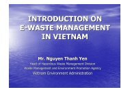 INTRODUCTION ON E-WASTE MANAGEMENT IN VIETNAM - GEC