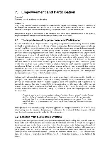 participation and empowerment an international journal The vagueness and lack of conceptualisation of the concepts of participation and empowerment cause confusion over  journal of international.