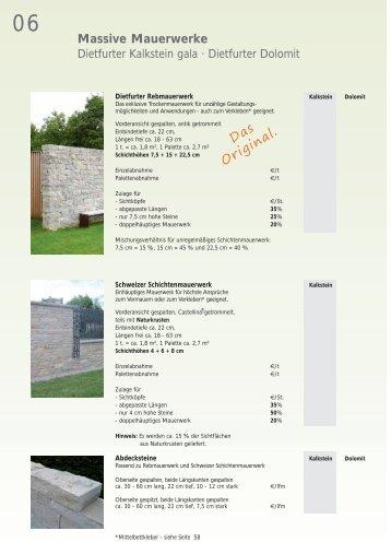 Stufen · Abdeckplatten - bei Franken-Schotter