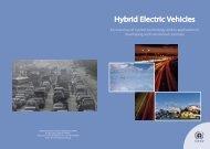 Hybrid Electric Vehicles Report - UNEP