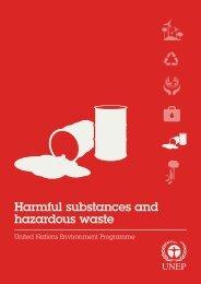 Harmful substances and hazardous waste - UNEP