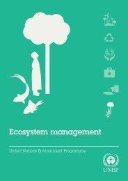 Ecosystem management - UNEP