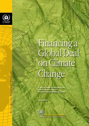 Financing a Global Deal on Climate Change - Allianz