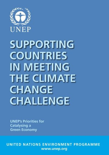 Supporting Countries in Meeting the Climate Change ... - UNEP