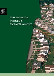Environmental Indicators for North America - UNEP/GRID-Sioux Falls
