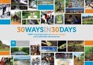 30WAYSIN30DAYS - UNEP
