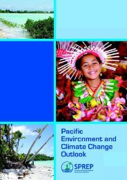 Pacific Environment and Climate Change Outlook - UNEP