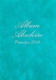 Albumul de Absolvire TRUBADUR