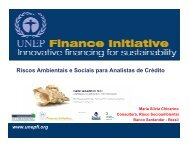 Riscos Ambientais e Sociais para Analistas de Crédito
