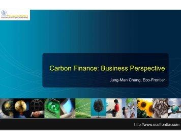 Carbon Finance: Business Perspective - UNEP Finance Initiative