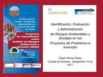 Identificación, Evaluación y Administración de Riesgos Ambientales ...