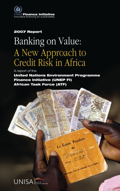 Banking on Value - UNEP Finance Initiative