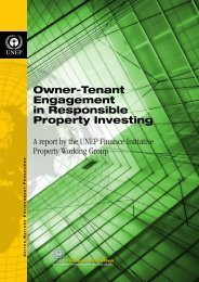 Owner-Tenant Engagement in Responsible Property Investing