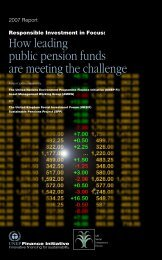 How leading public pension funds are meeting the challenge