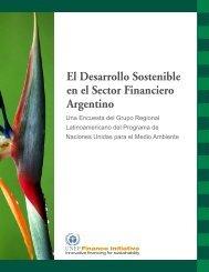 El Desarrollo Sostenible en el Sector Financiero Argentino