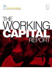 The Working Capital Report - UNEP Finance Initiative