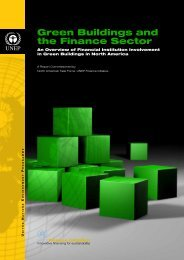 Green Buildings and the Finance Sector - An Overview of Financial