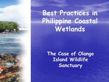 Best Practices for Coastal Resources Management