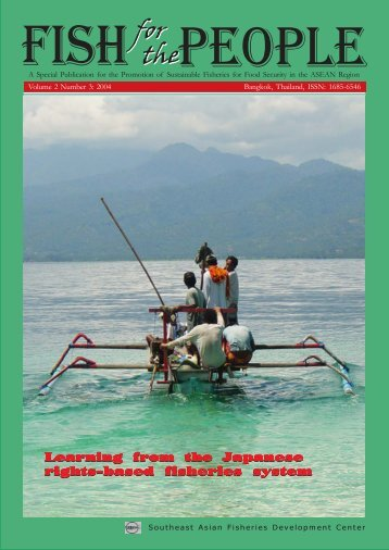 Learning from the Japanese Rights-based Fisheries System