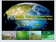 Biology, Ecology & Conservation of Seagrass Beds in Southeast Asia