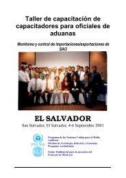 EL SALVADOR - DTIE