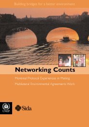 Networking Counts - DTIE