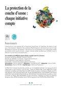 La protection de la couche d'ozone : chaque initiative compte - Page 3