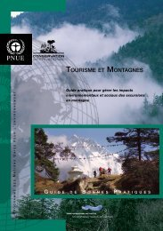 TOURISME ET MONTAGNES - Tour Operators Initiative