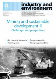 Mining and Sustainable Development II - DTIE