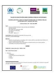 taller de capacitación sobre compras públicas sustentables