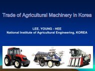 LEE, YOUNG - HEE National Institute of Agricultural ... - Escap