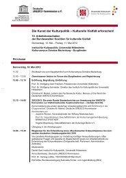 Programm - Unesco