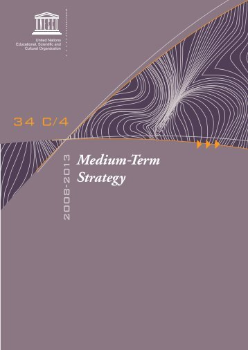 Medium-term Strategy, 2008-2013
